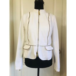 Michael Kors White Denim Jacket
